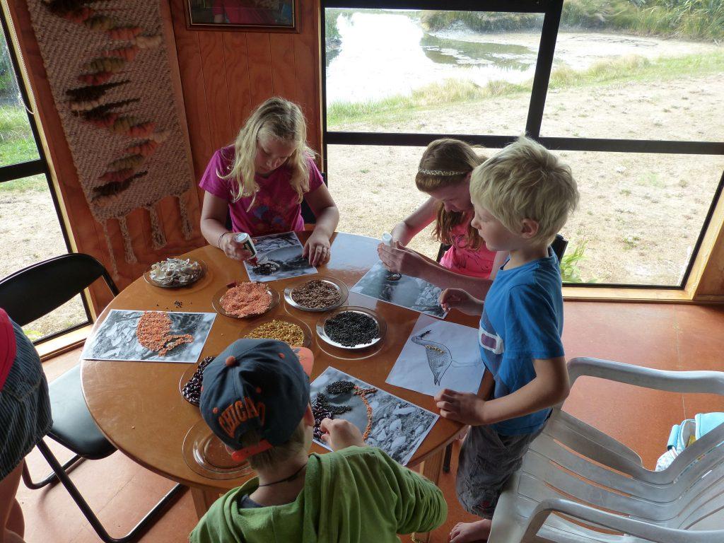 Pukorokoro Miranda Shorebird Centre school trip education