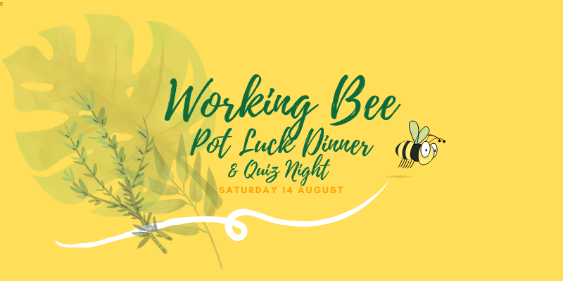 Shorebird Centre Working Bee Quiz Night Pot Luck Dinner 2021